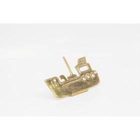 Boat wall brass