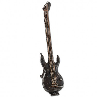 Electric Guitar with Base