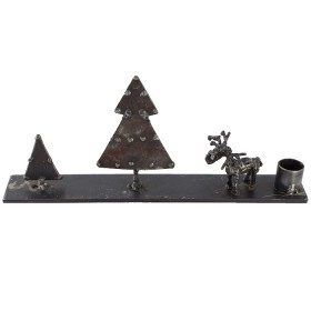 Candlestick Reindeer (2 pieces)