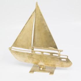 Brass Sailing Boat